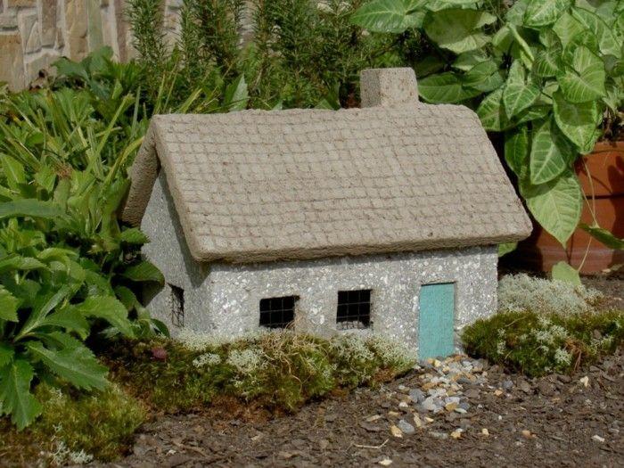 adornos jardin pequenos ornamentos casita preciosa ideas