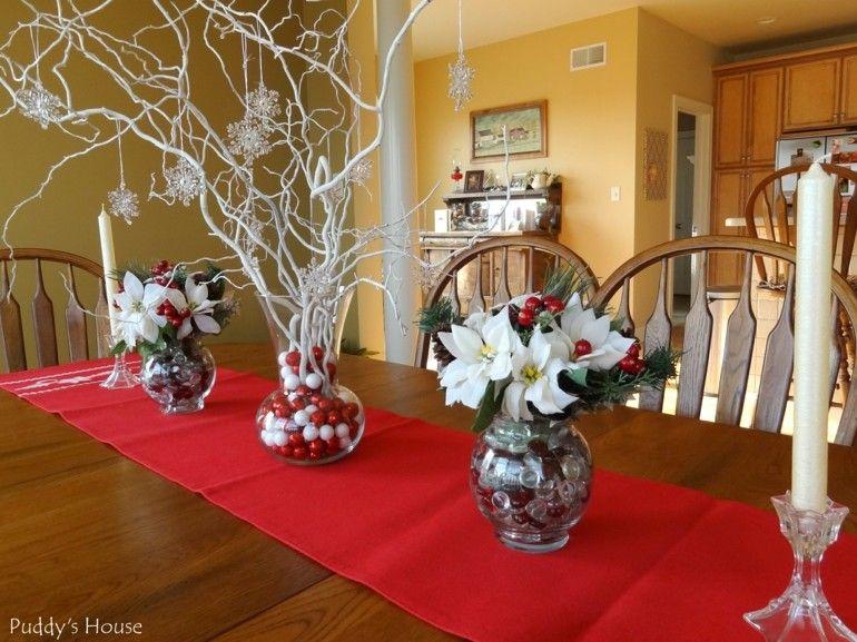 adornos navidad diy deco mesa