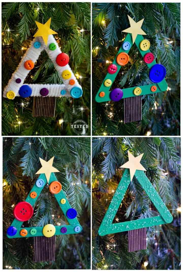 Manualidades de navidad para ni os cincuenta ideas for Adornos originales para navidad
