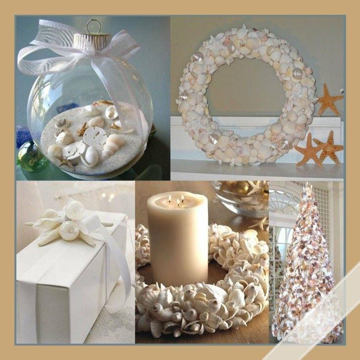 adornos diy decoracion conchas playa