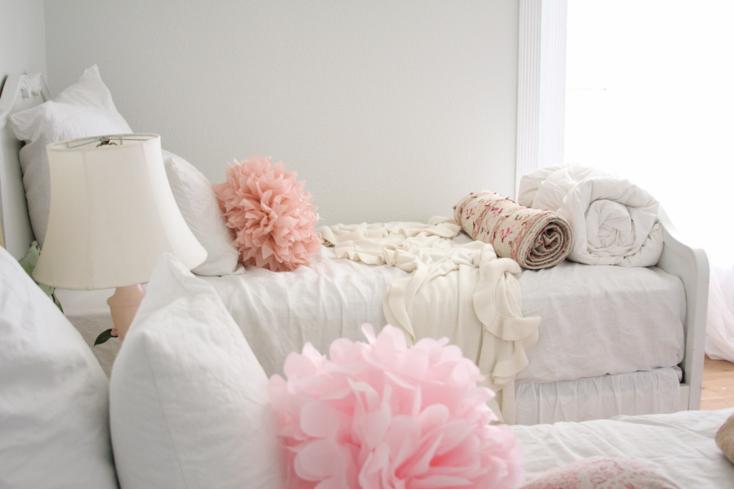 adornos color rosa flores
