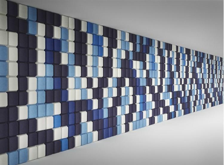 alargado diseño azules negro linea