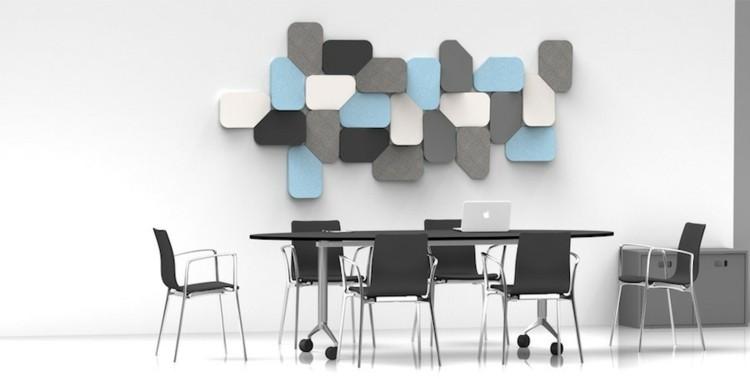 alargado variado azules negro moderno negro