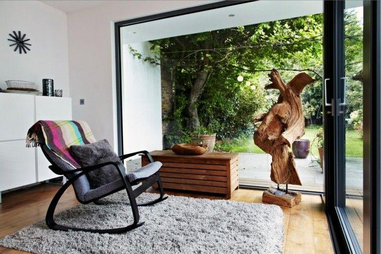 alfombras diseño estilos ramas sillon