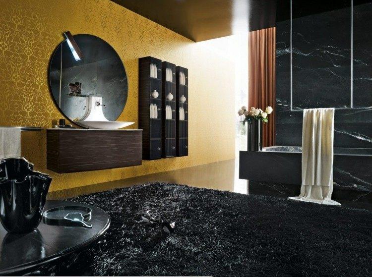 alfombras elegante estilos amarillo negro
