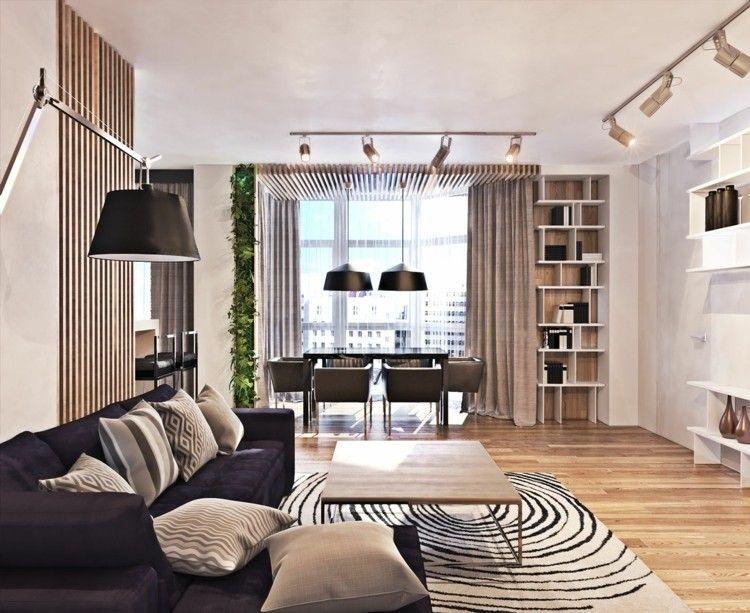 alfombras estilos casa estantes listones