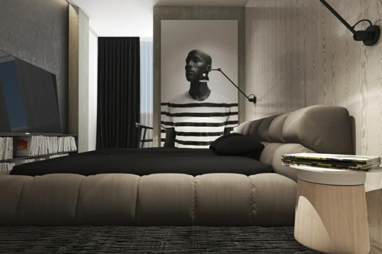 alfombras paredes cortinas habitacion madera
