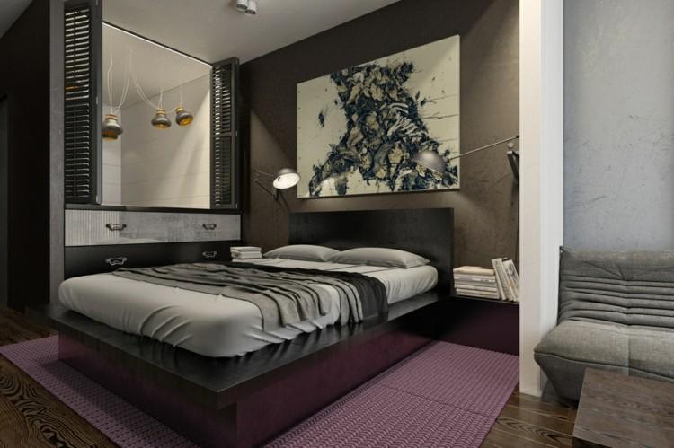 alfombras paredes suelo camas color
