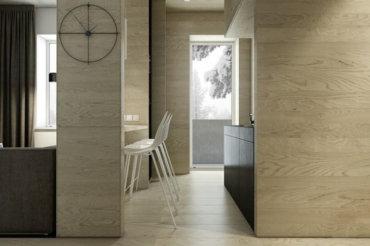 alfombras paredes suelo relojes minimalista