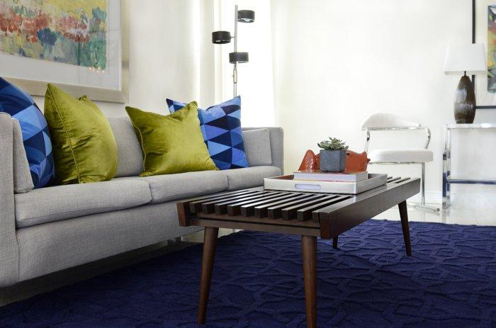 alfombras vintage papel elegante azules azules