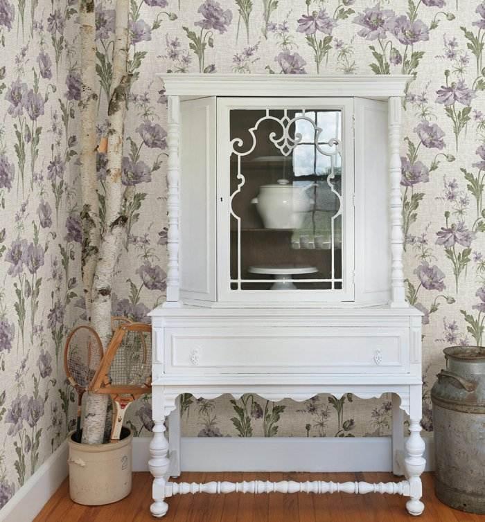 alfombras vintage papel elegante blanco reglas