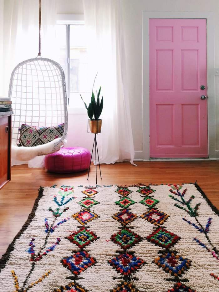 alfombras vintage papel elegante diseños colgante