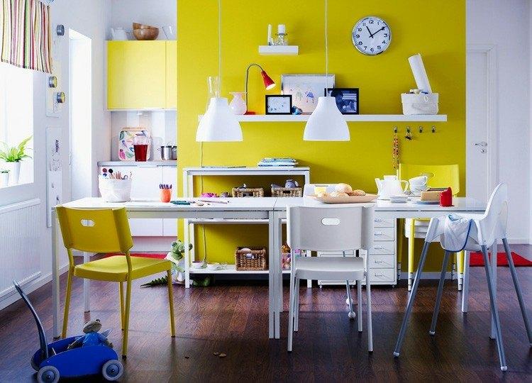 amarillo creativo ventanas comedor soluciones