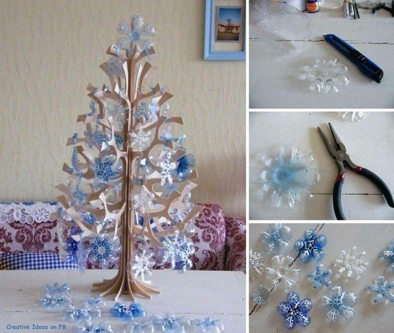 arbol navidad casero culo potellas