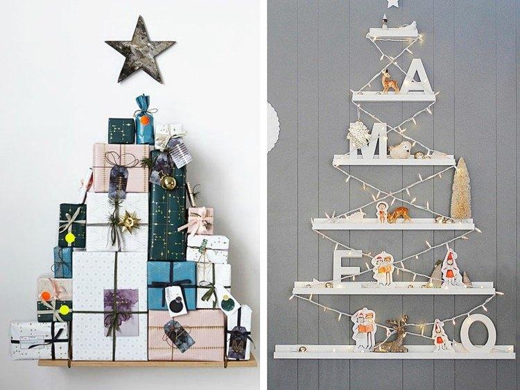 arboles de navidad ideas estrellas luces