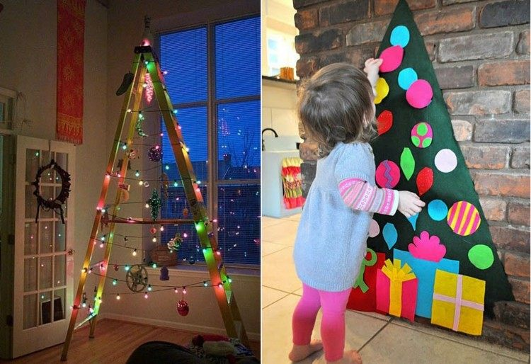 arboles de navidad ideas diferentes para fiestas inolvidables On arboles de navidad de diferentes materiales