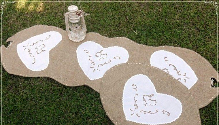 arpillera opcion alfombras distintas formas ideas