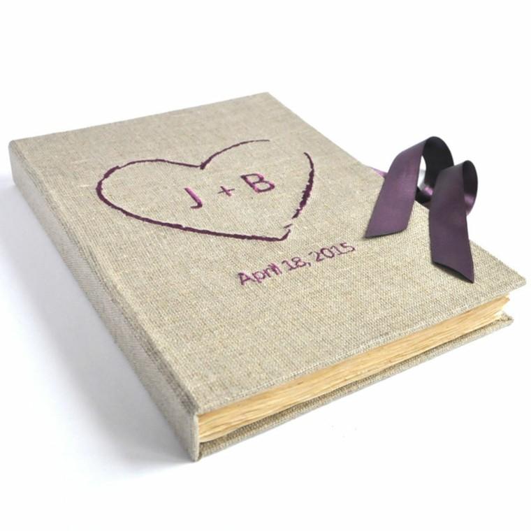 arpillera opciones libro corazon letras purpura ideas