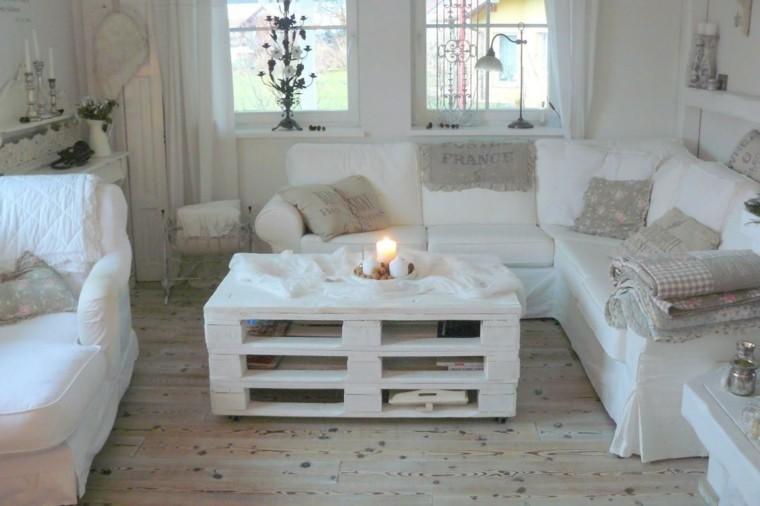 arpillera opcion salon muebles blancos ideas
