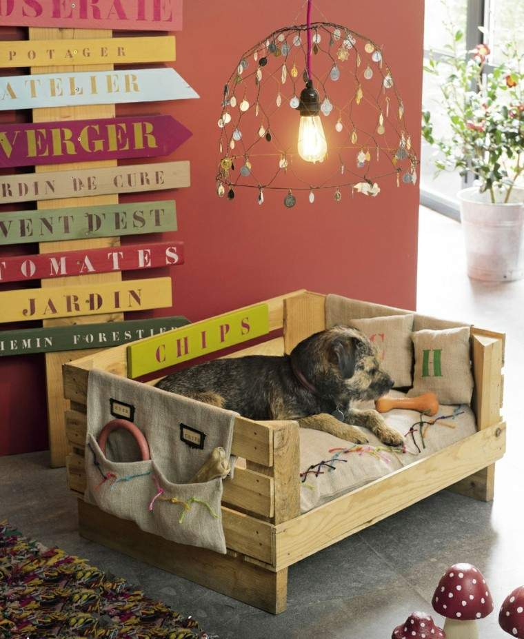 arpillera opcion sofa perro feliz ideas