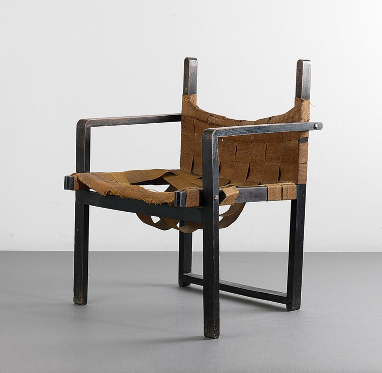 arpillera sillas madera hecha mano ideas