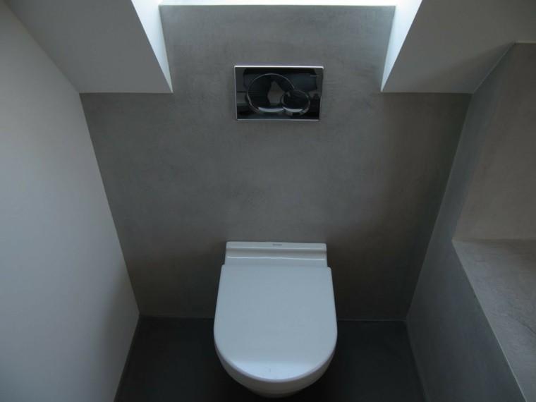 aseo estilo minimalista microcemento baños