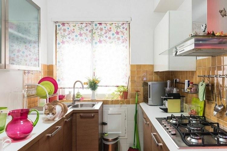 atractiva cocina diseños elegante color verdes