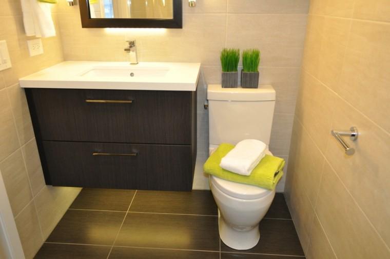 baño aseo muebles modernos