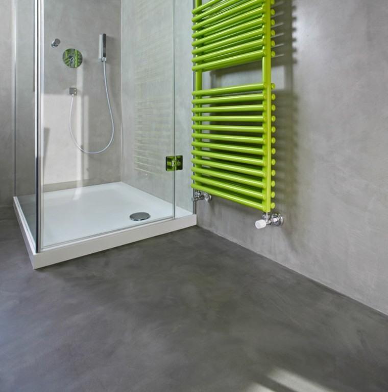 Baño Estilo Contemporaneo:Microcemento baños – la nueva moda en revestimientos
