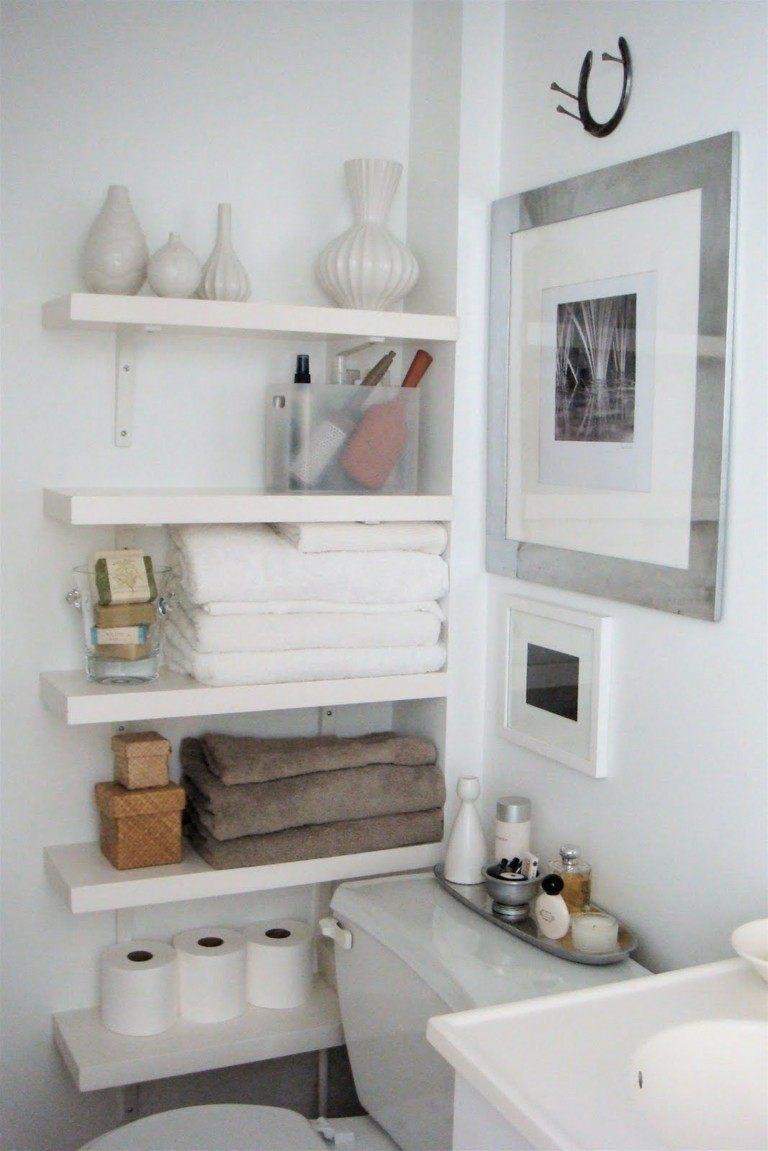 estantes baño estantes baño color blanco