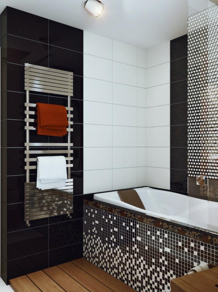 baño pequeño toallas estantes variantes