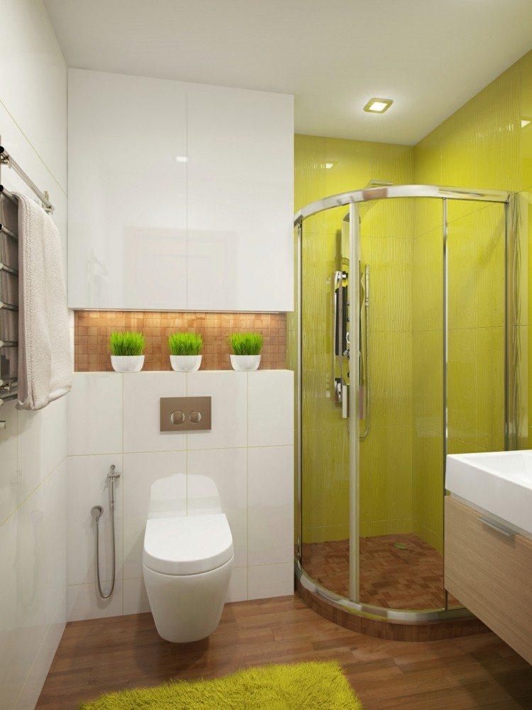 baño plantas suelo maderas blanco