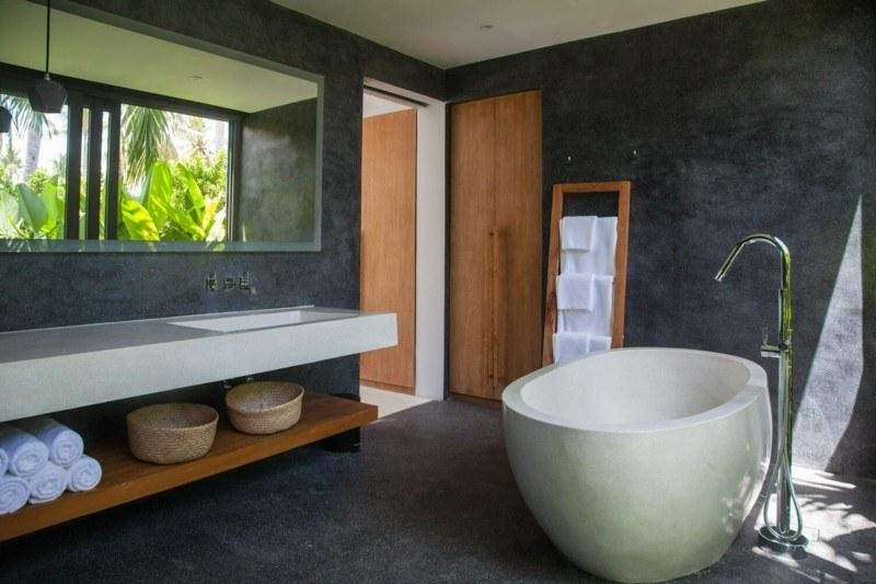 baño moderno tropical deco