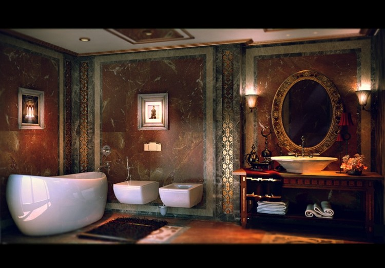 baños decoracion variantes paredes blanco