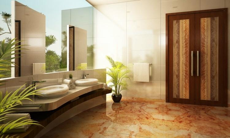baños decoracion variantes plantas natural