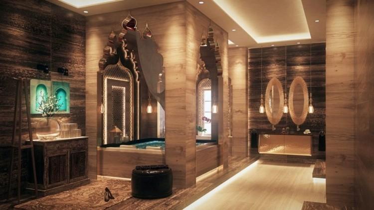 baños modernos luces modernas led