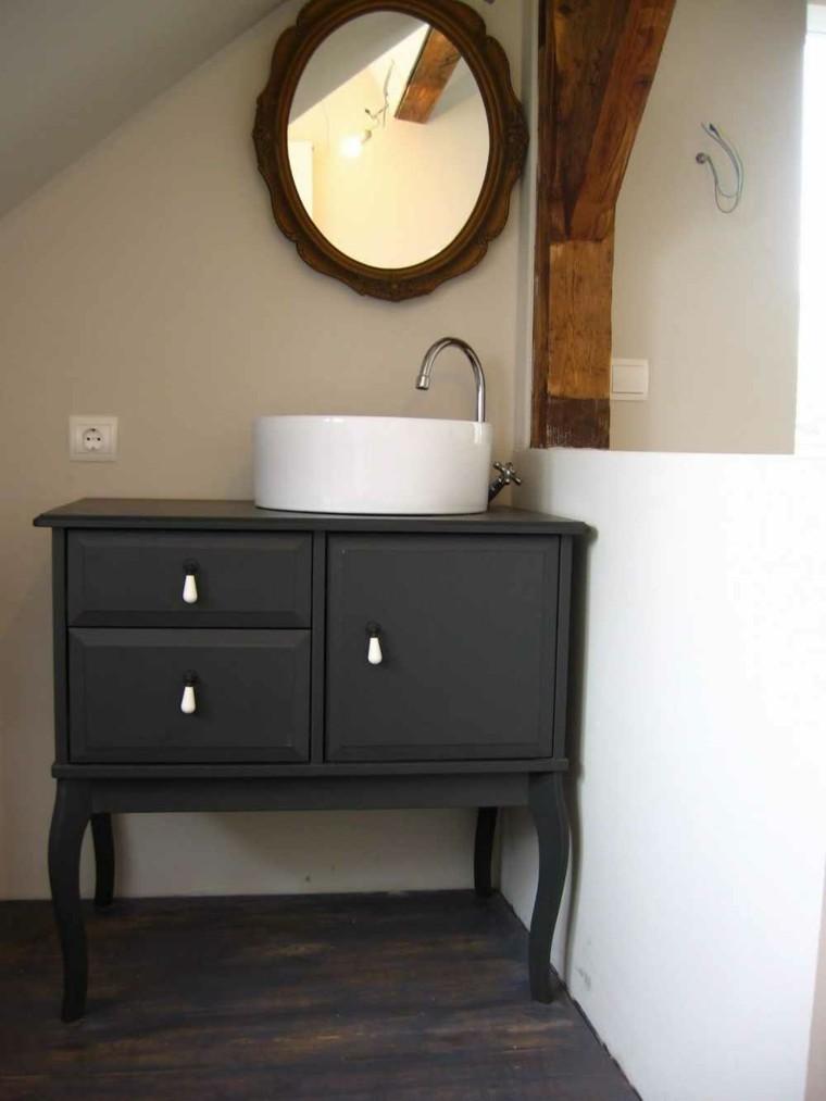 baños muebles estilo retro