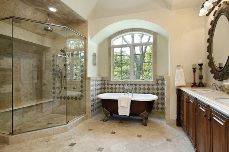 Baños Con Ducha Negra:Baños modernos con ducha 50 diseños impresionantes -