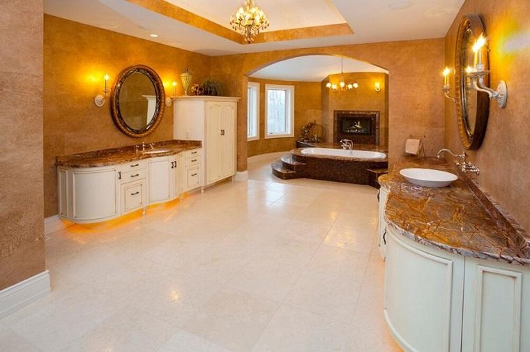 Decoracion De Baños Romanticos:Baños decoracion lujosa