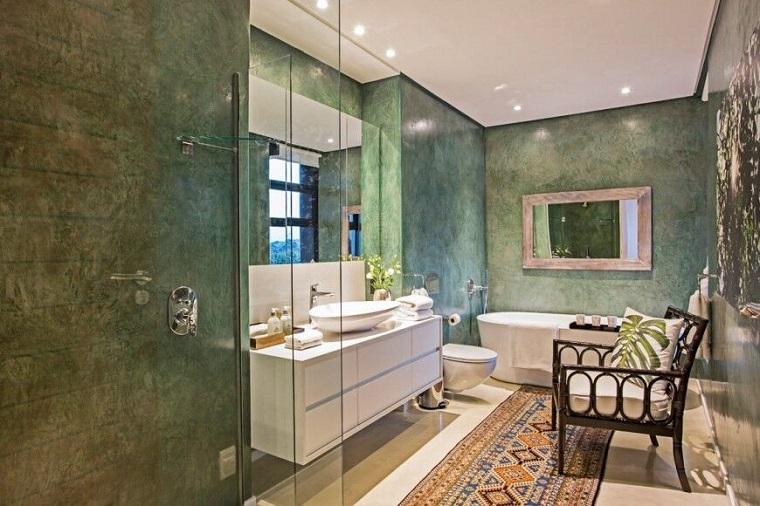 Baños Modernos Verdes:Baños decoracion y diseño para espacios modernos -