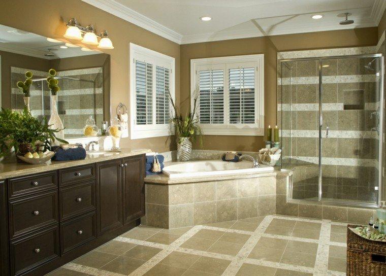 baos con ducha en esquinabao precioso con ducha baera en la esquina y dos ventanas con baos con ducha en esquina - Baos Con Ducha Y Baera