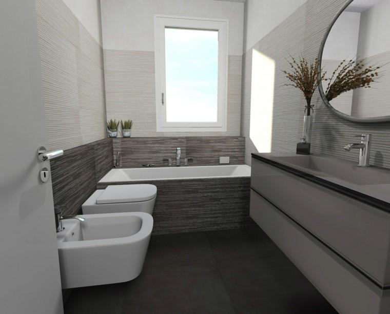 Ba os peque os 36 ideas para espacios estrechos for Espejos para banos pequenos