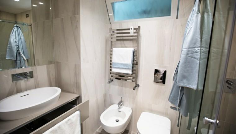 banos pequenos mampara ducha ideas