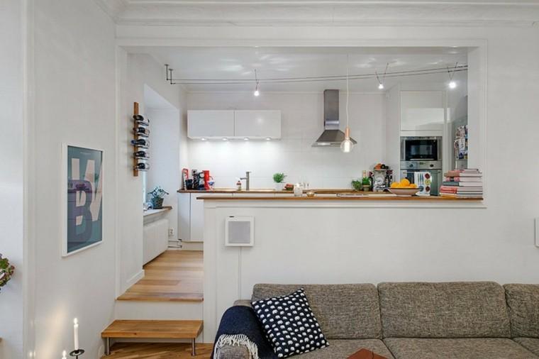 barra cocina salon comedor