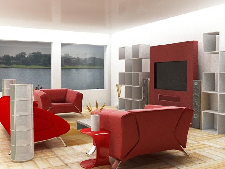 blanco estilo sala exteriores sillones