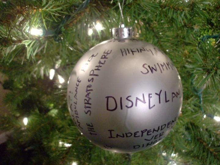 bola decorada deseos familia