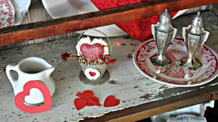 bonita decoración estilo romantico