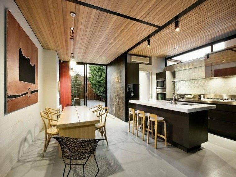 bonita cocina diseño moderno
