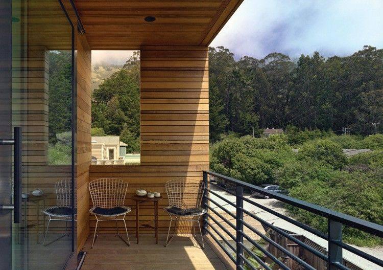 Persianas vallas y rejas de madera para la terraza - Persianas para balcones ...
