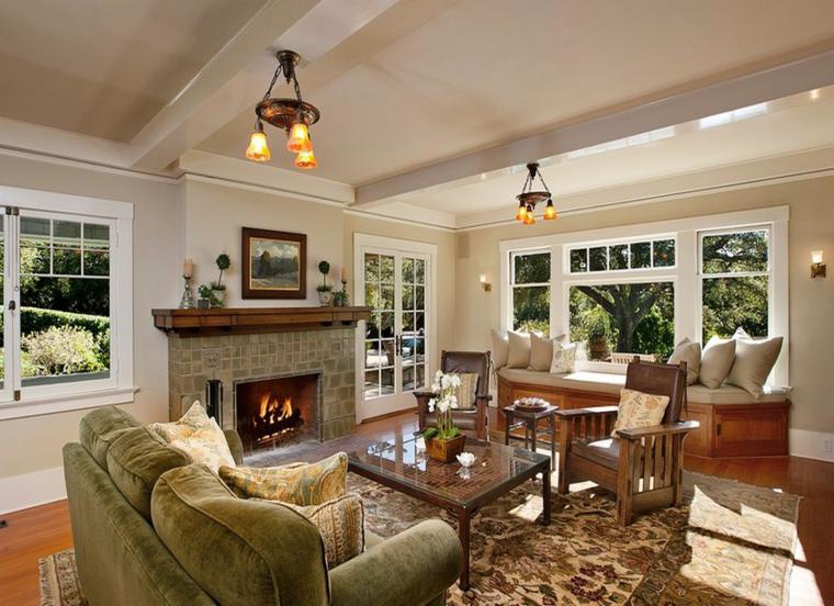 Chimeneas rusticas modernizadas 38 modelos geniales for Decoracion de interiores estilo clasico